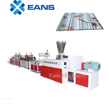 PVC wall panel manufacturing machine unit