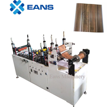 Lamination machine for PVC wall panelling