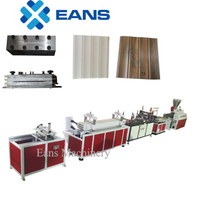 PVC wall panelling making machine